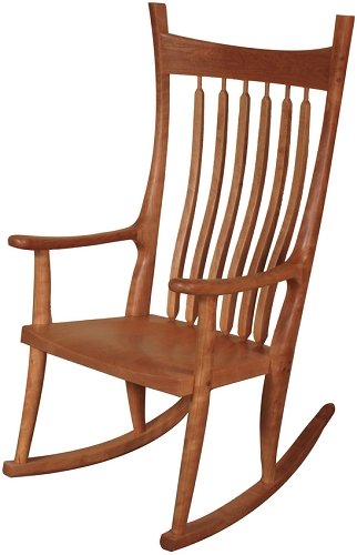 Brendan Rocker Wood Seat