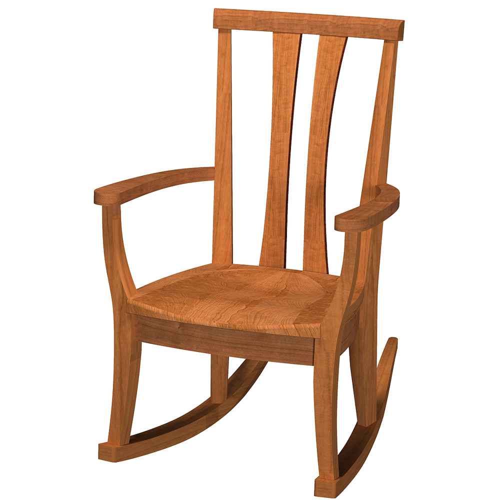 Kyoto Rocking Chair Tall Back