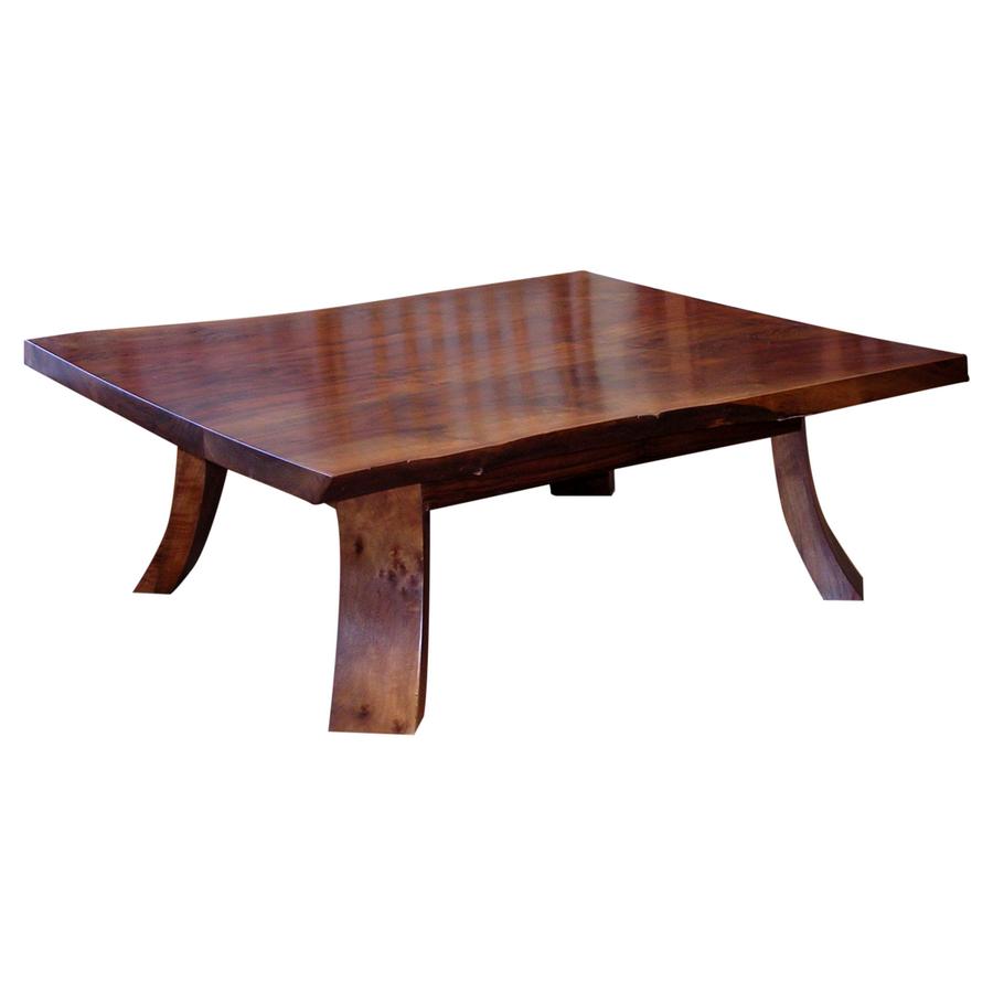 Live Edge Coffee Table Base: Live Edge Coffee Table