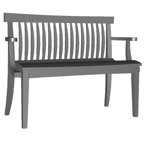 Pacific Low Back Bench