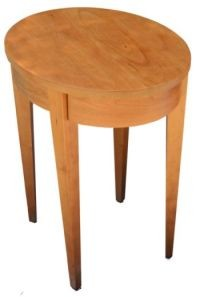 Elliptical End Table