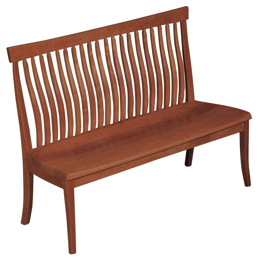 Pacific Tall Back Bench