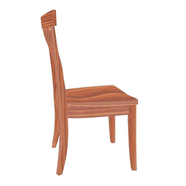Pacific Dining Chair Mid Back Ht 20