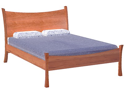 Moonset Sleigh Bed