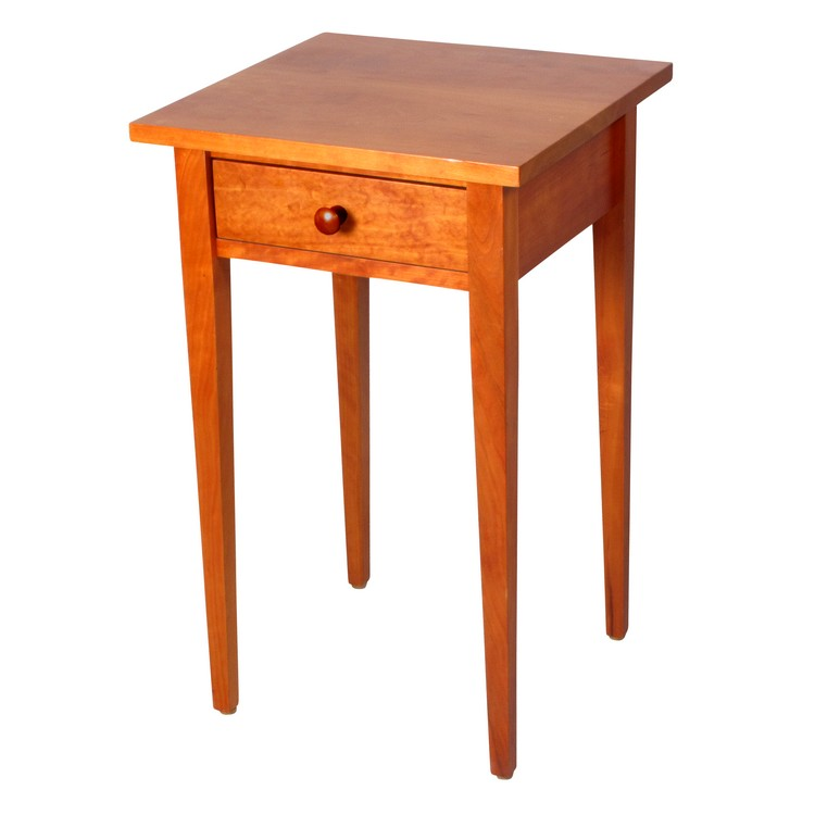 Shaker Pure- Small and Tall End Table